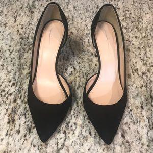 J.CREW Black Heels 👠